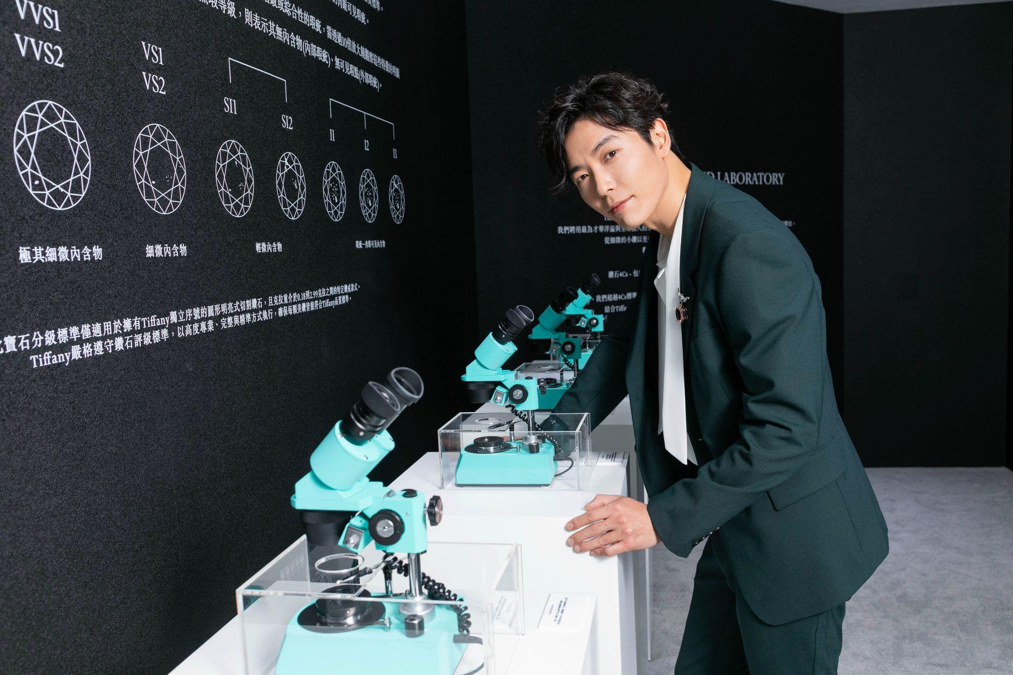 「Tiffany美鑽傳奇主題展」華山限時登場!韓國男神金材昱抵台,帶你一起走入Tiffany的鑽石世界