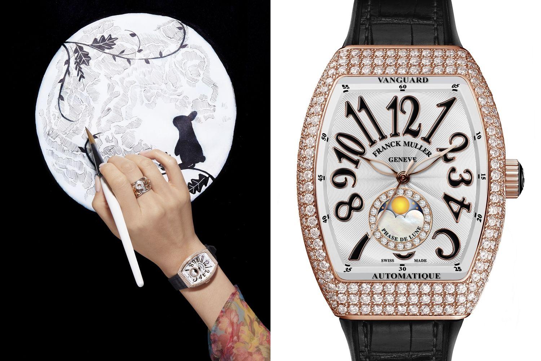 賞時也賞月,編輯精選八款月相腕錶,讓你低頭也能盡情賞月