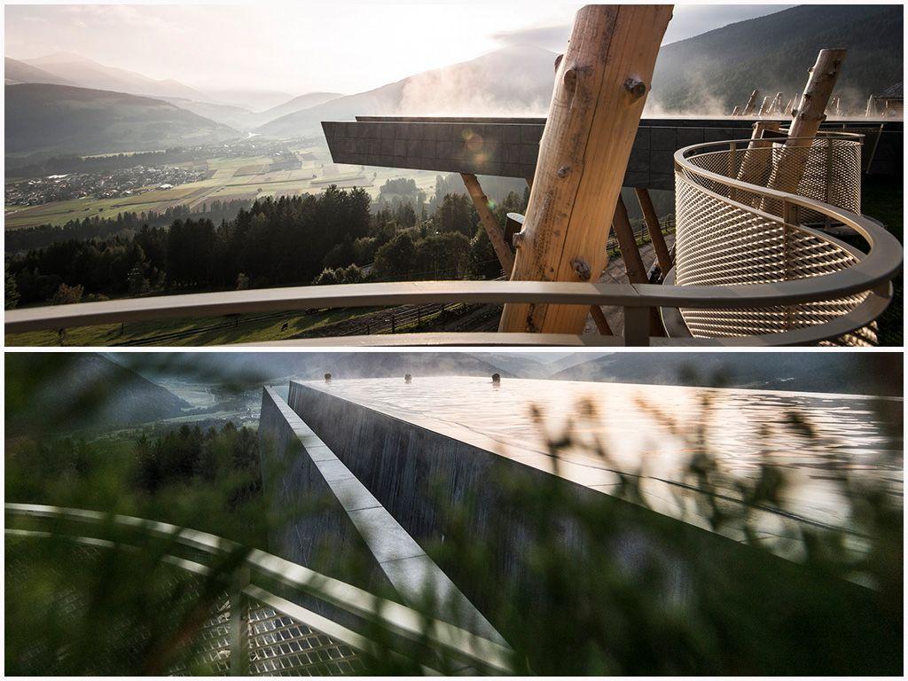 世界遺產上「與山脈對話的無邊際戶外游泳池」,浮游天堂與大地間的天空酒店