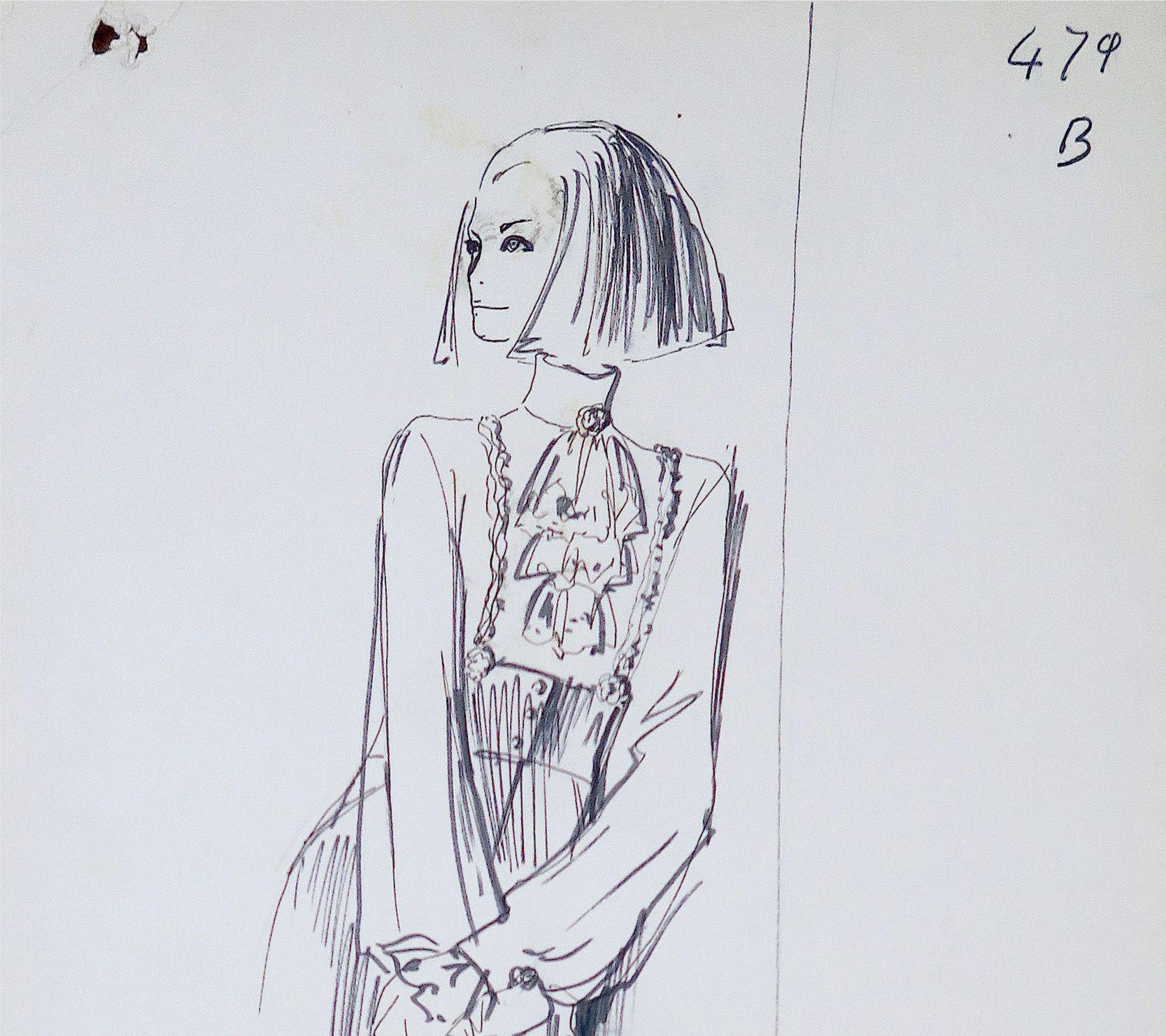 時尚老佛爺Karl Lagerfeld手稿原作將於十月ART TAIPEI 首展曝光!