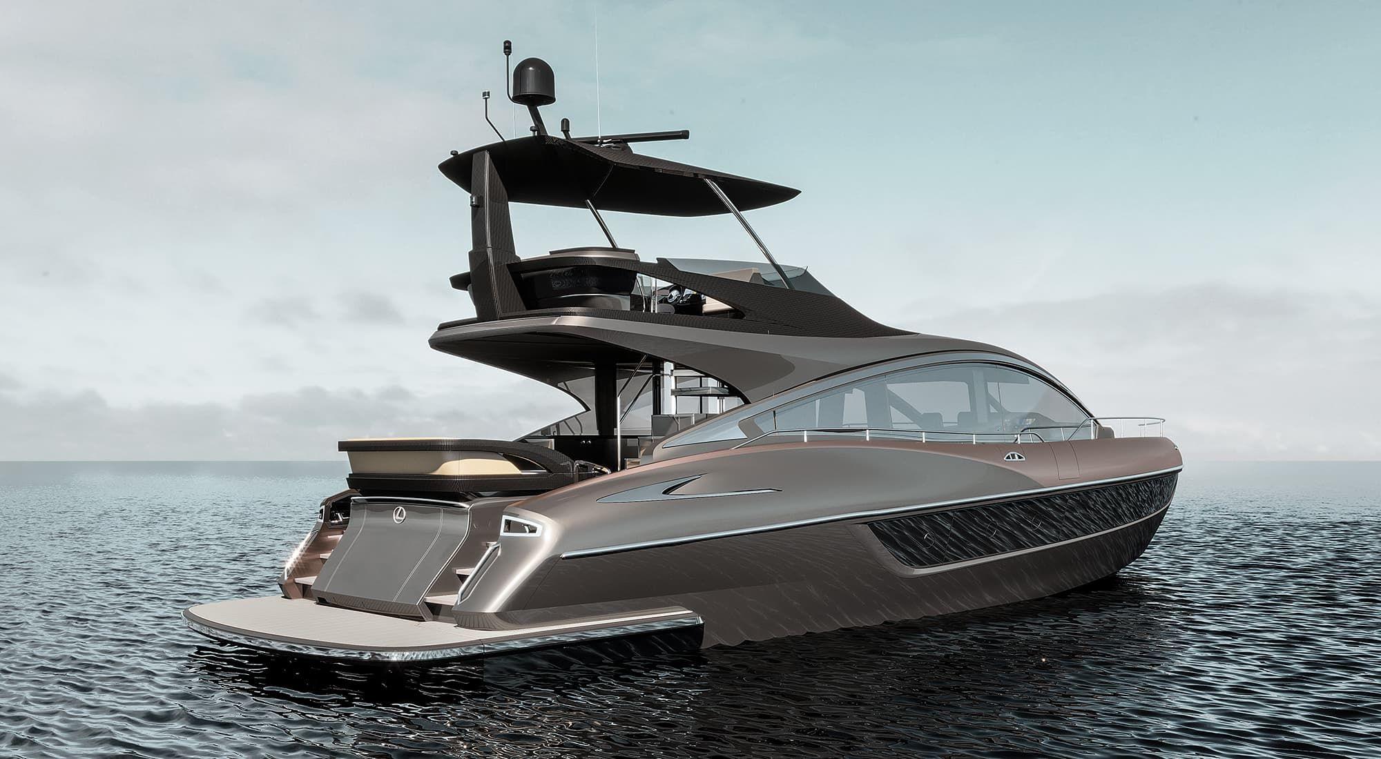 移動式海上豪宅!Lexus首艘遊艇 LY650於10月底全球開賣