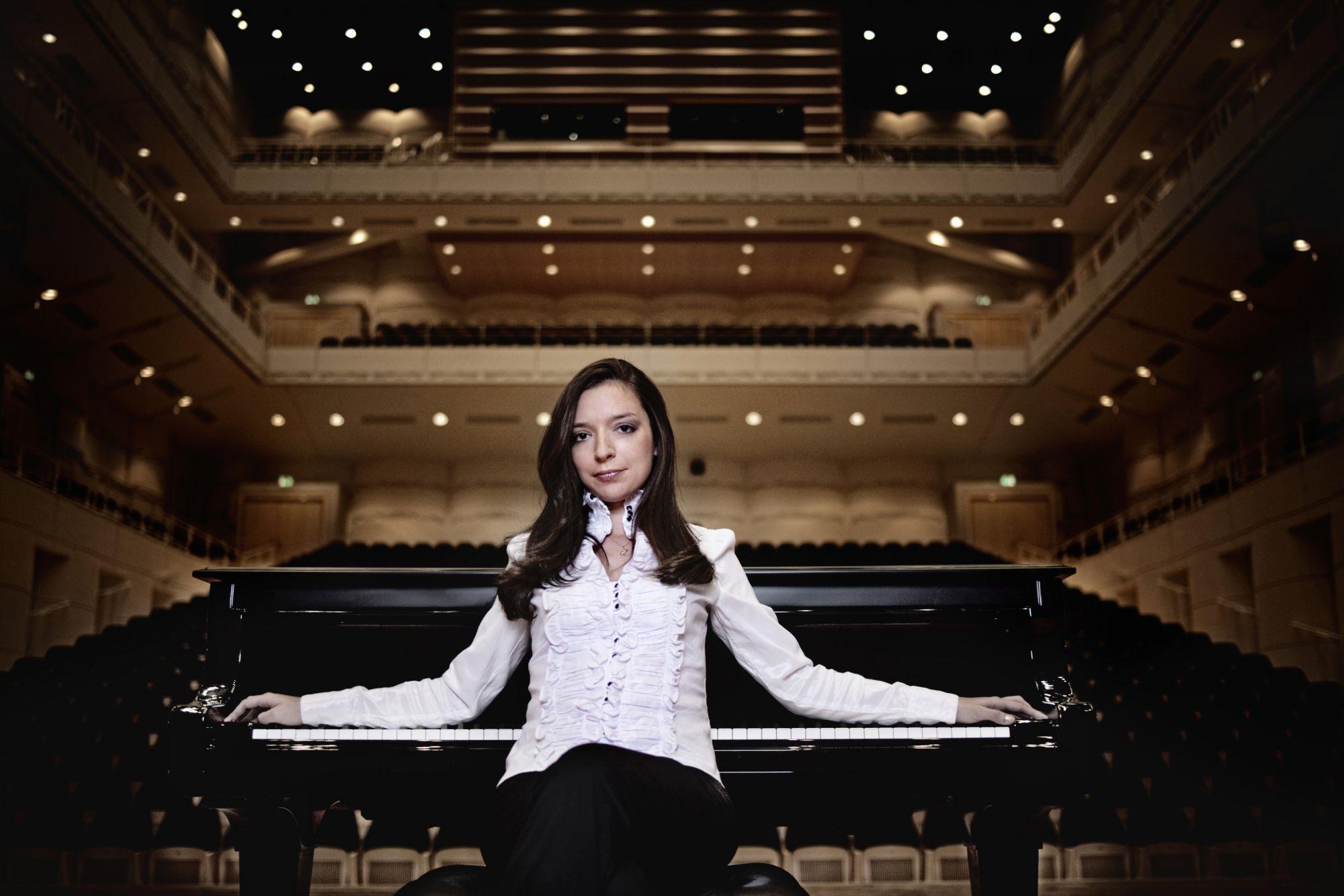 國際蕭邦大賽罕見女性冠軍,鋼琴天后阿芙蒂耶娃台北鋼琴獨奏會