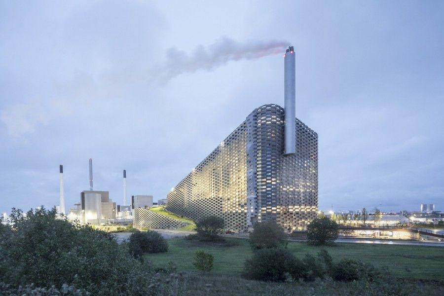 2019年最讓人期待建築!改變世界的垃圾發電廠,可攀岩、滑雪
