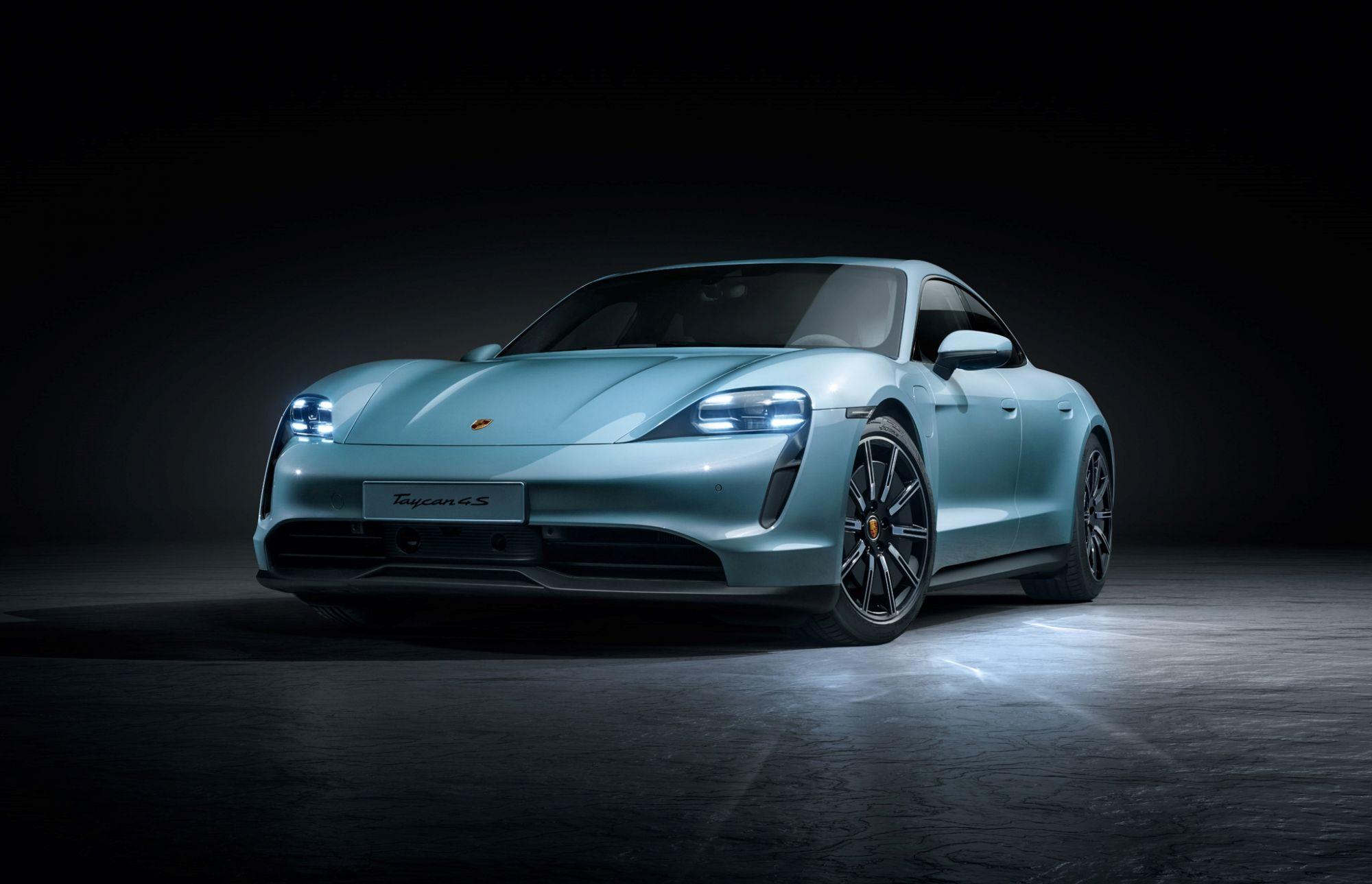 Porsche 電動車入門版!Taycan 4S 兩款電池規格、463km續航力