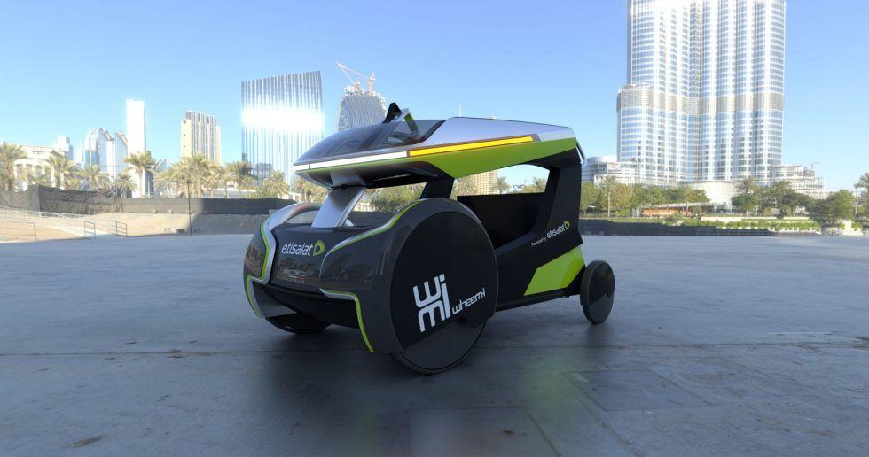 供身障人士使用的共享電動車,半自動駕駛輔助功能增加安全性防護