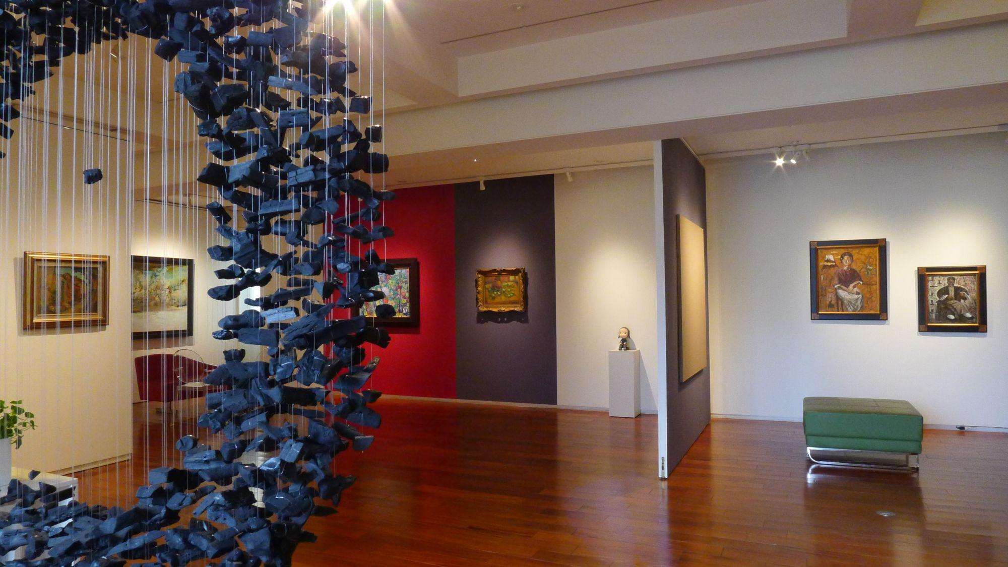 形而上畫廊30週年特展,以「收藏家的沙龍」串連台灣美術史