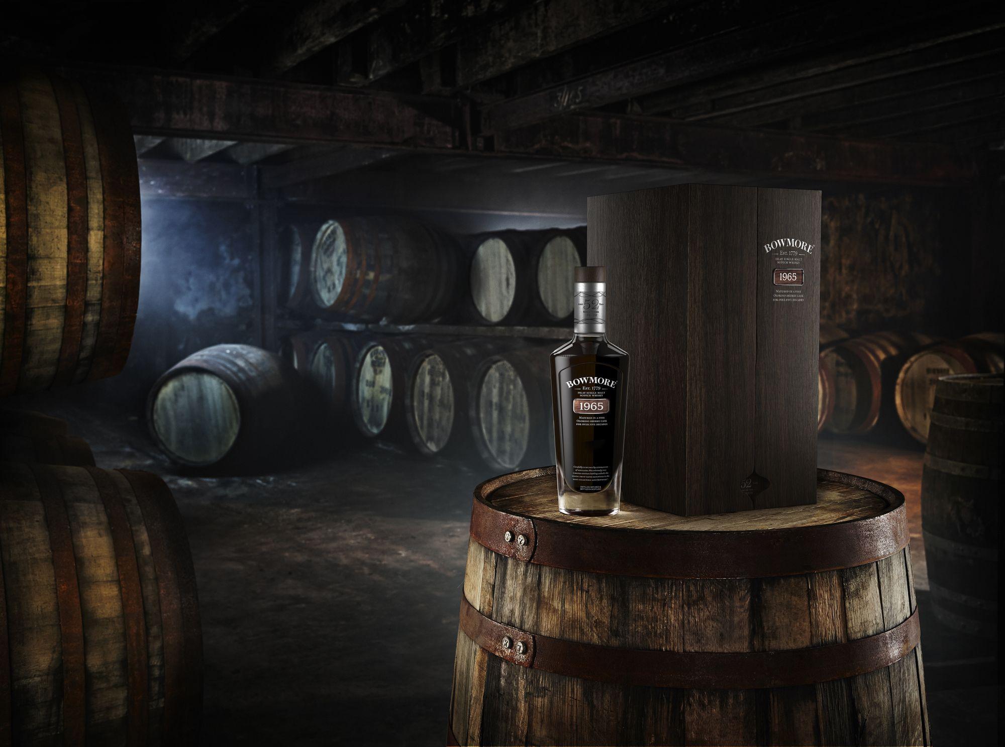 Bowmore 1965 Distillery Barrel JPG