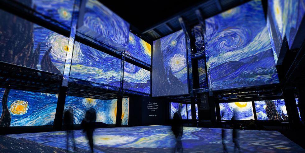 3層樓高《再見梵谷-光影體驗展》2020登台!已巡迴全球超過 50 個城市、累積超過 600 萬人次參觀