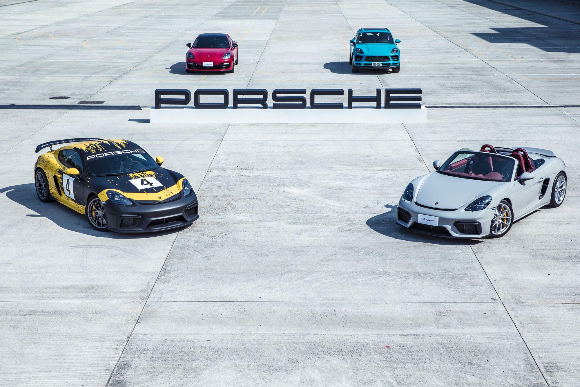 全新Porsche 718 Cayman GT4與718 Spydern 保時捷賽道日登場!原廠認證車體塑膜,打造專屬色號、設計