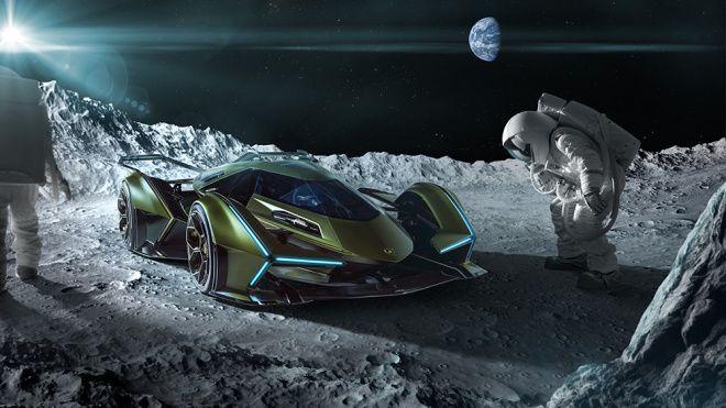 陸上噴射戰鬥機!Lamborghini Lambo V12 Vision GT概念車2020降臨,0-100km極速勝過Sián的2.8秒
