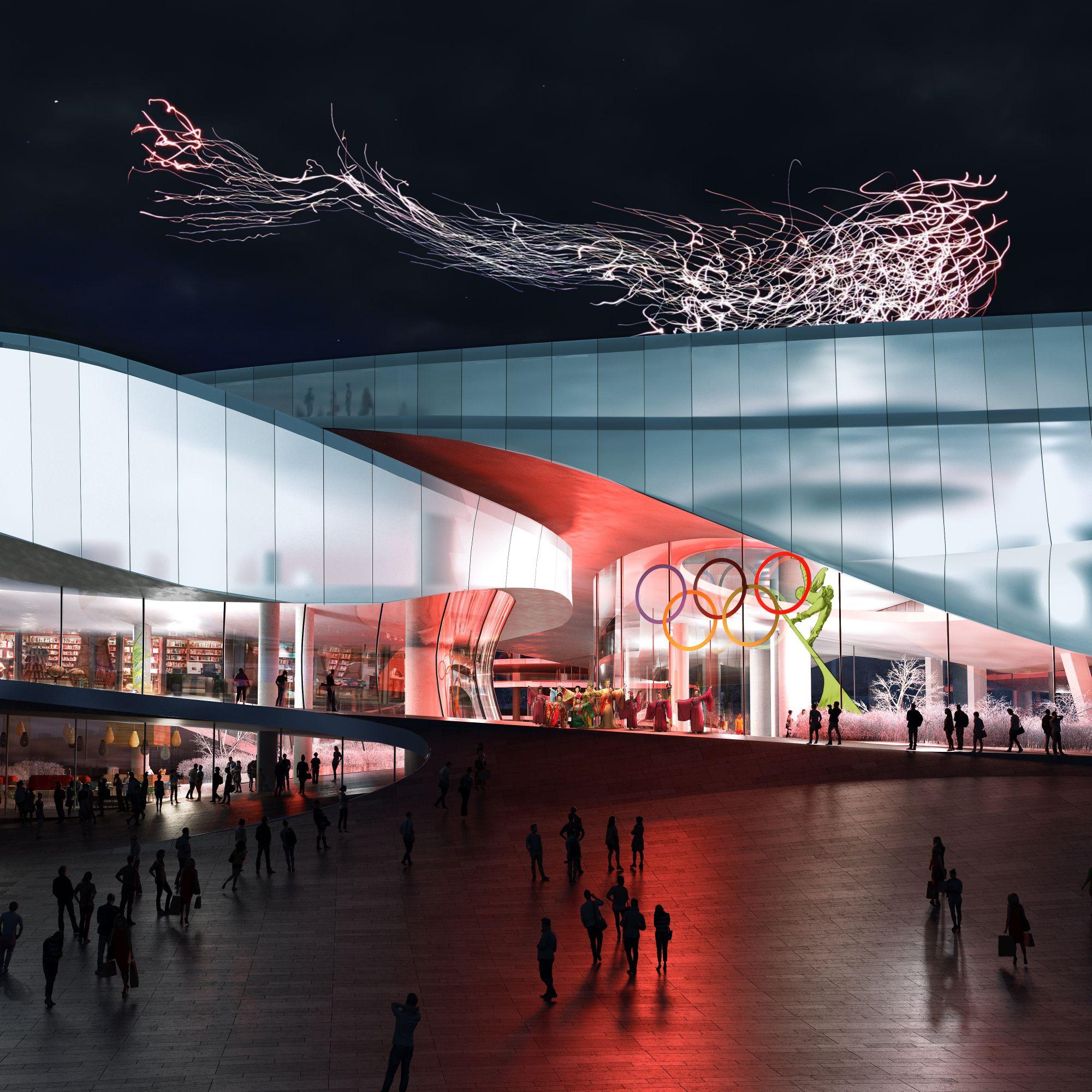 世界第1個冬奧運博物館與學院:肩負知識轉移與傳承的場域,不消耗常規能源的建築