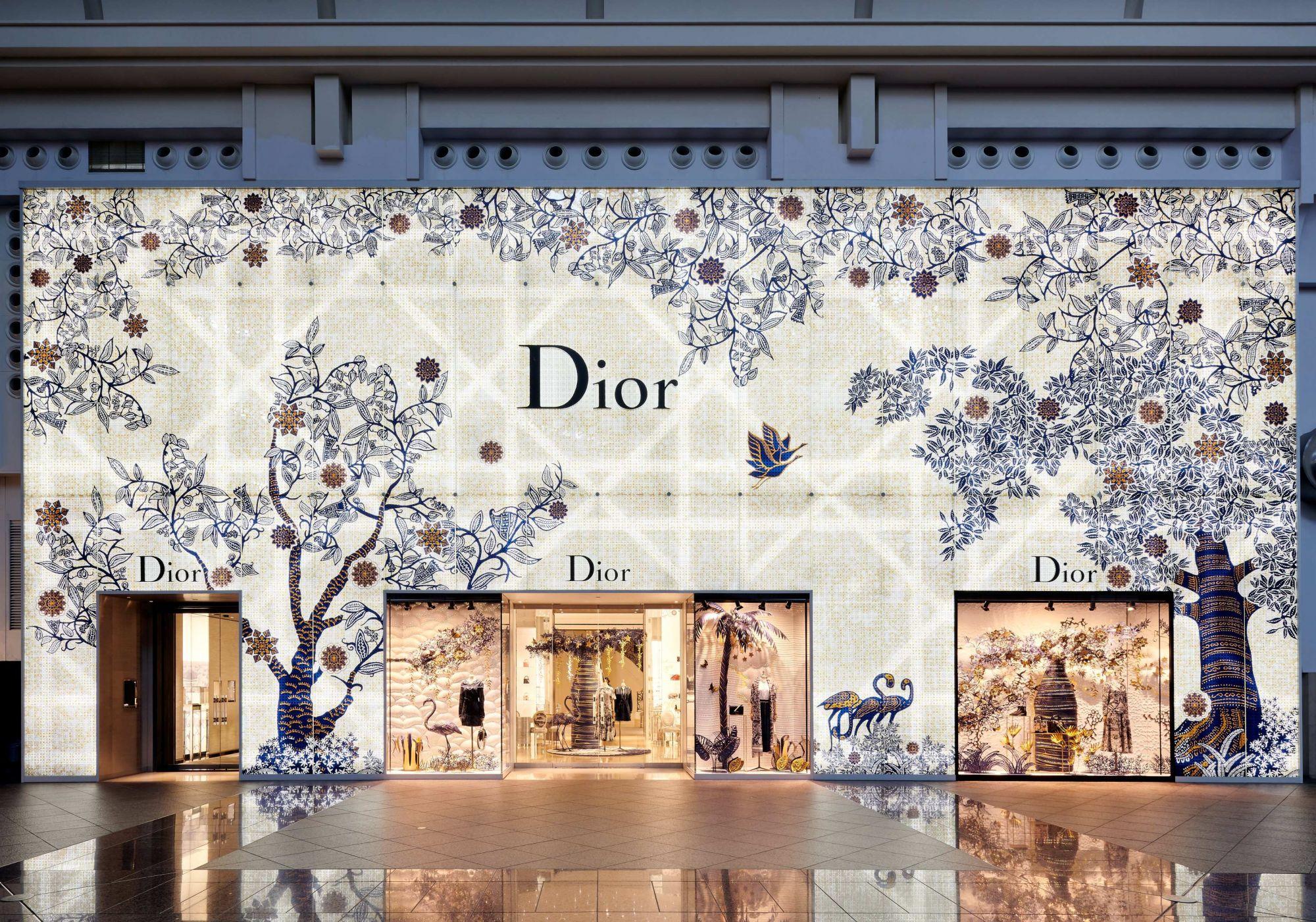 Dior 台北 101 精品店外觀(by Studio Millspace)