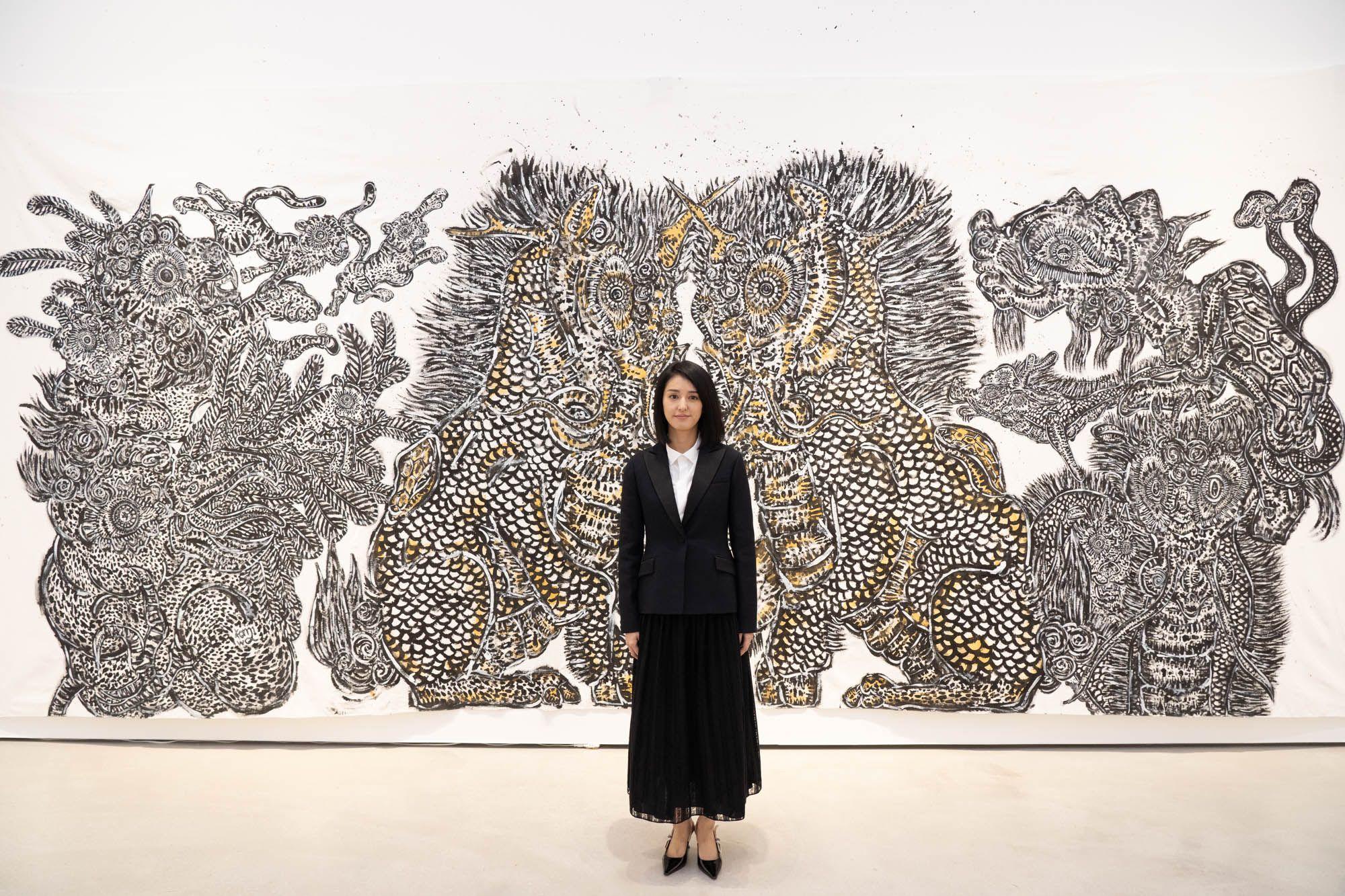 海外藏家爭收藏!HTC vive 宏達電聯手日本藝術家小松美羽,威尼斯影展入圍作品「祈禱」VR數位典藏版限量登場