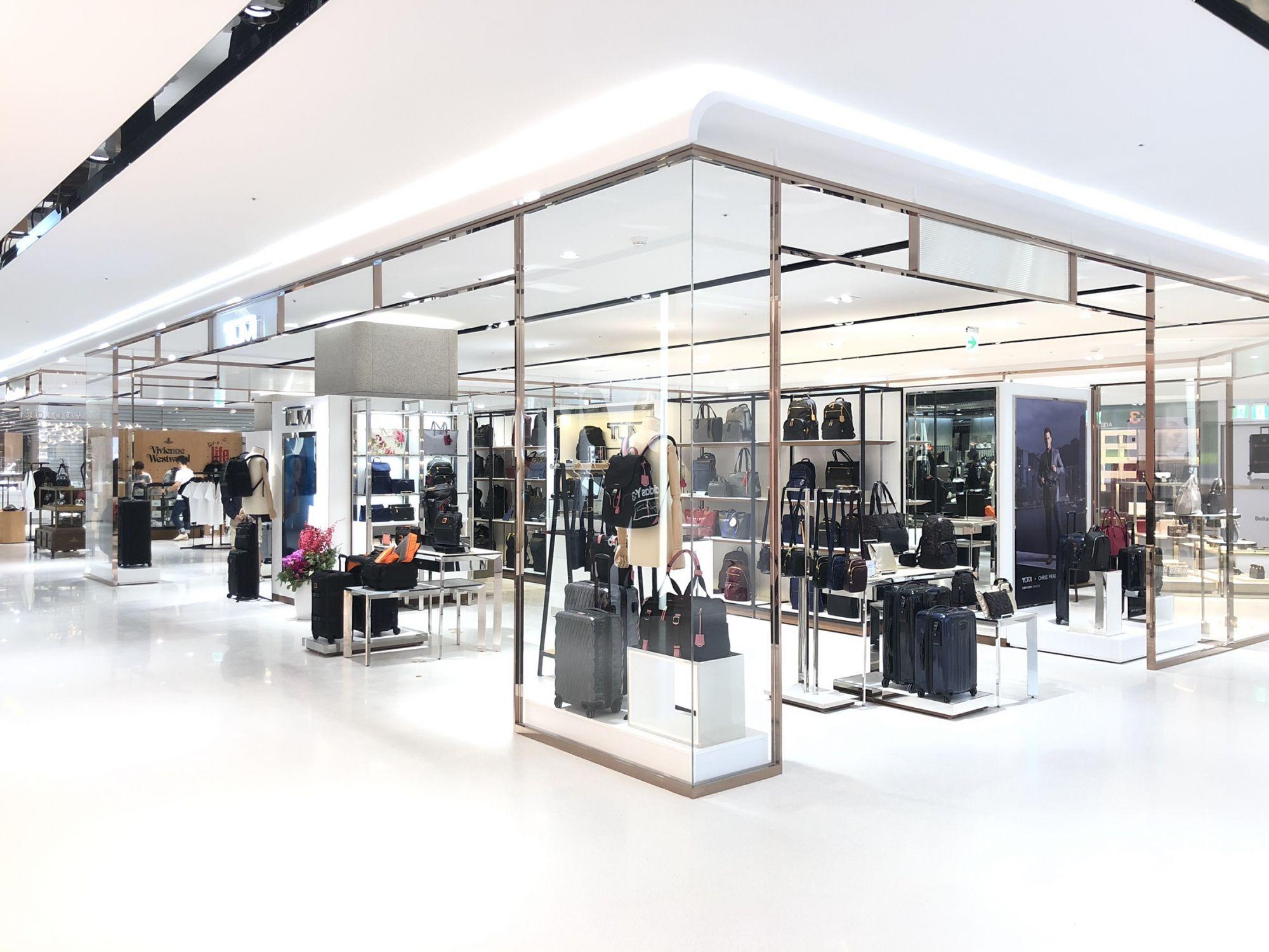 TUMI 遠百信義A13 開幕慶  打造明亮且舒適的全新購物環境