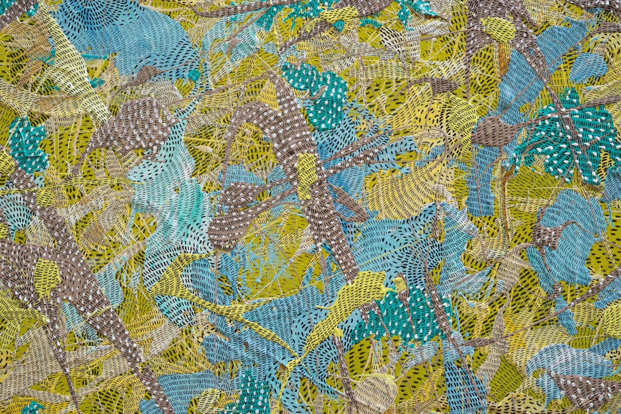 皇室貴族爭相收藏的東南亞當代藝術正夯, 不可錯過的抽象藝術展覽:詩意流轉-峇里島藝術家韋耶諾維個展