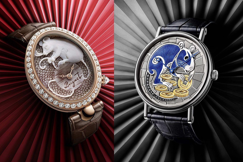 瑞鼠來報到!Breguet以極致工藝打造2款限量鼠年腕錶