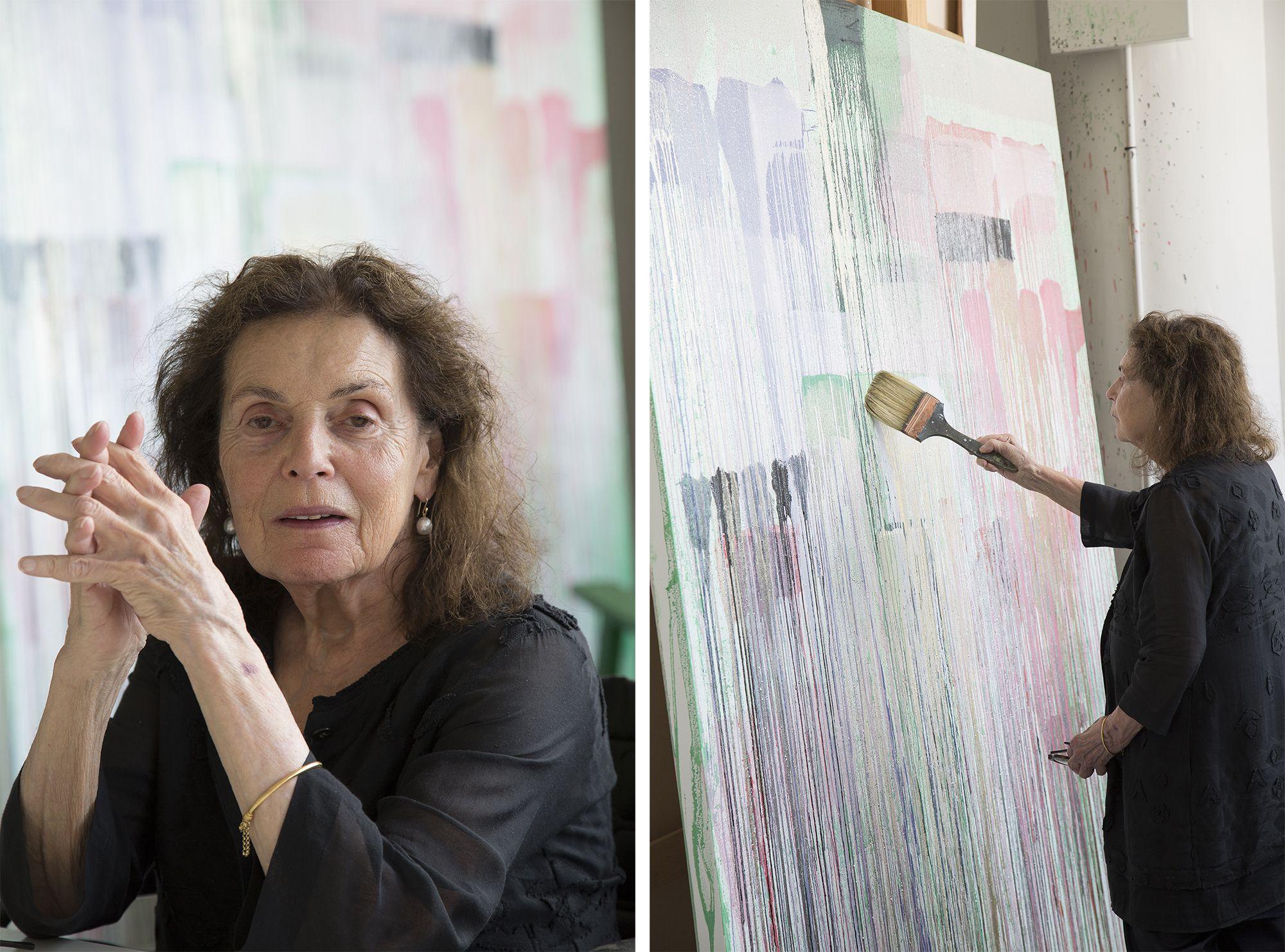 美國抽象畫大師Pat Steir亞洲首展即刻登場!台北當代藝博呈現全新系列新作《台北》