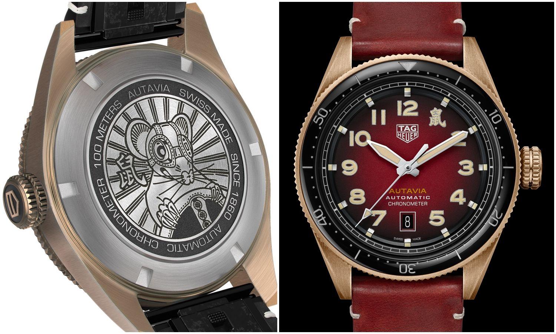 「鼠」一數二鼠年限定!泰格豪雅Autavia新年特別版腕錶讓你迎向高峰