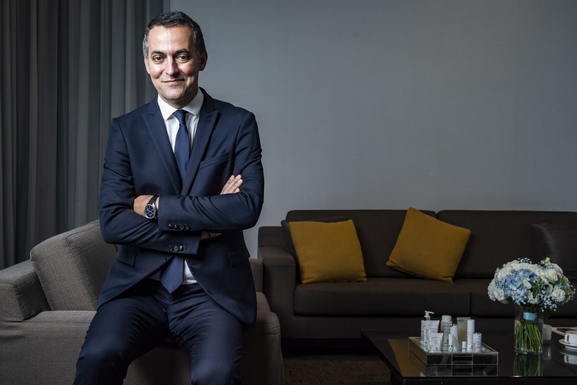 法國男人比你想像得更懂得保養自己?Sisley亞太區總裁Nicolas Chesnier:「我是一個很active的人。」
