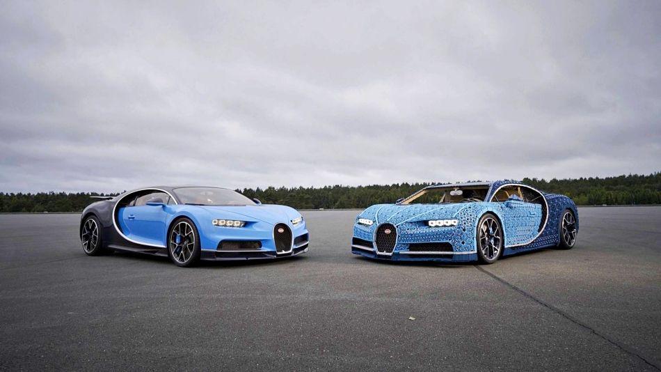 LEGO 樂高版「1:1」 Bugatti Chiron!全車用百萬個零件無任何膠粘、行進時速為20KM/H