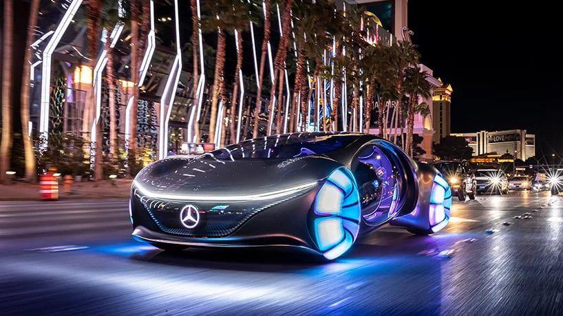 Mercedes-Benz賓士推《阿凡達》Vision AVTR概念車!可橫向移動、33個仿生鱗片與天地共生