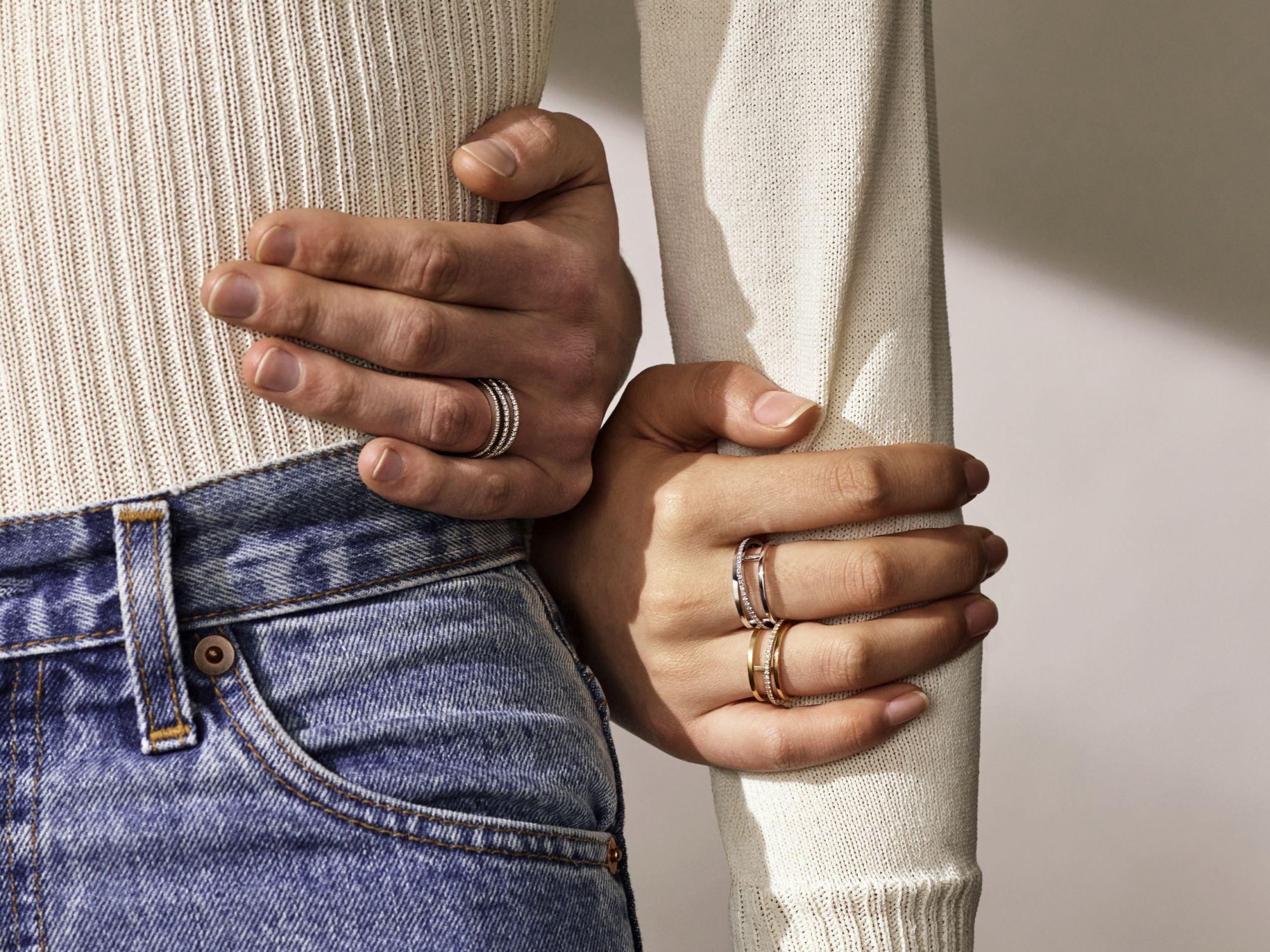 情人節禮物零失誤!用簡單的線條致敬純粹的愛,De Beers全新Horizon系列珠寶玩轉情人浪漫情話