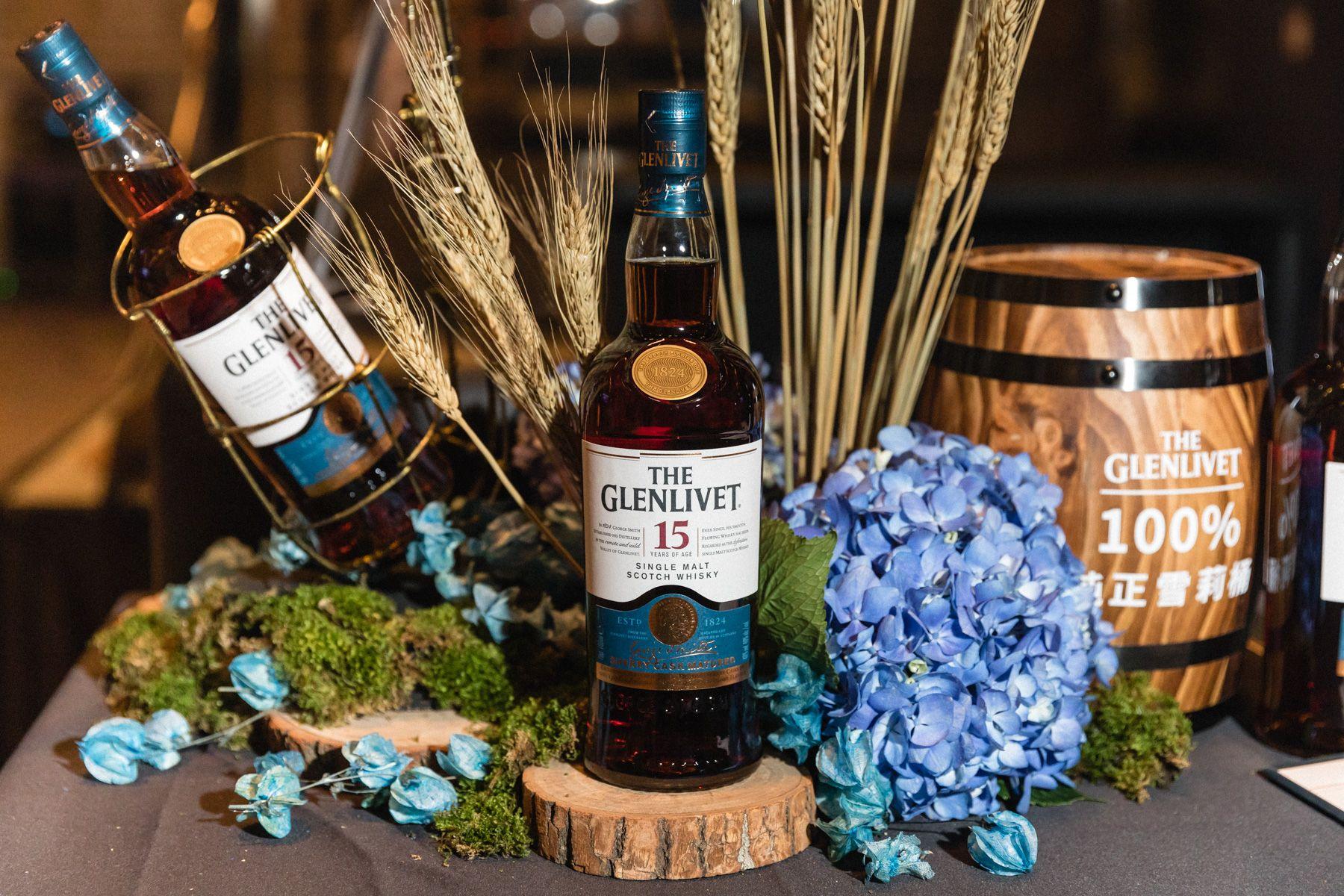 雪莉桶獨獻台灣又一傑作!The Glenlivet 格蘭利威15年雪莉桶單一麥芽威士忌強勢登場
