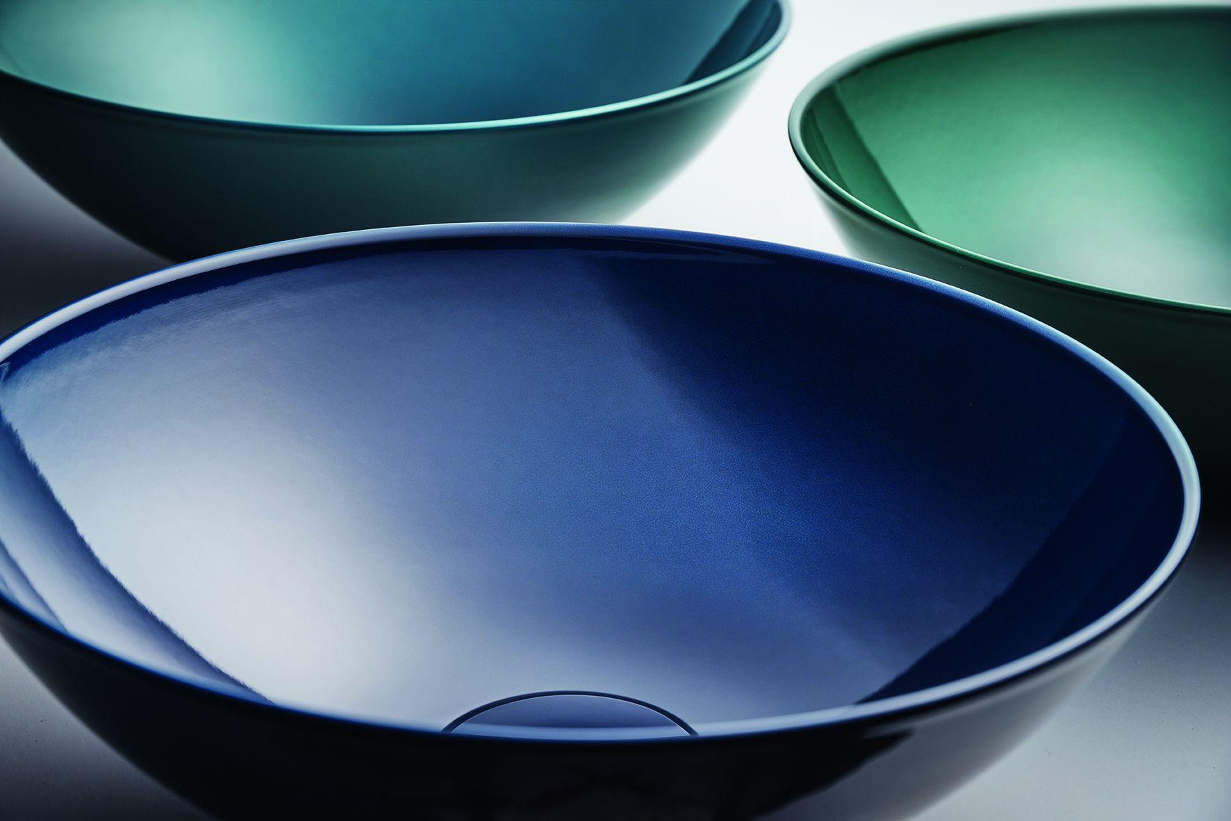 2020最應景的經典藍面盆!Aqua用色彩妝點衛浴空間,以釉面質地撫慰身心靈