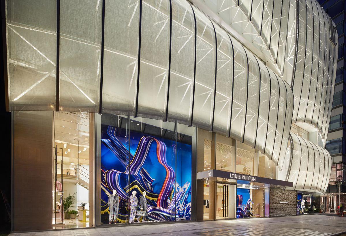 巨型帆船橫空出世!Louis Vuitton 大阪御堂筋旗艦店盛大開幕
