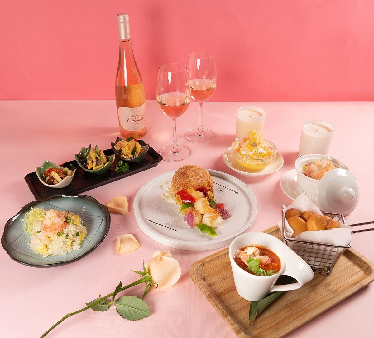 珍寶海鮮推出六道式西洋情人節套餐!珍寶獲獎辣椒蟹佐Perrier Jouet Grand Brut !「蟹蟹」陪情人們優雅過節