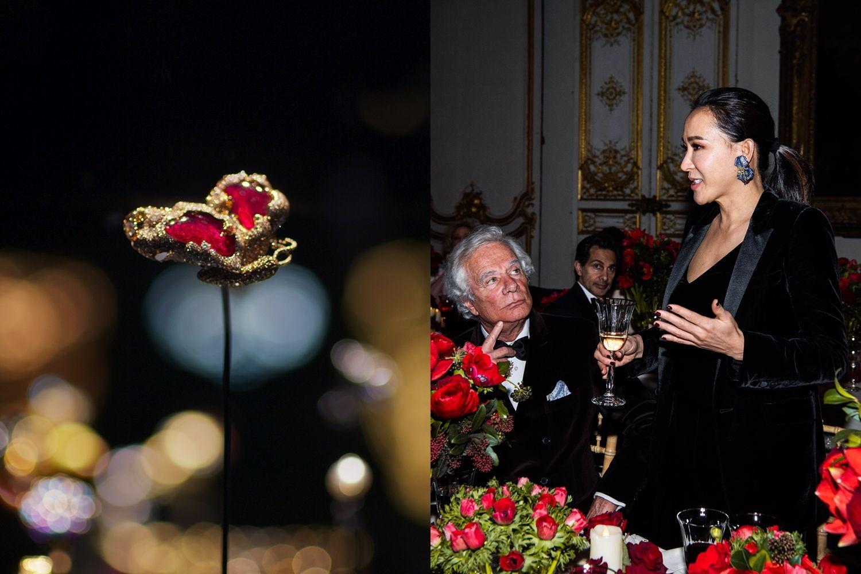 【獨家報導】余湘割愛捐贈珠寶藝術家Cindy Chao首只年度蝴蝶作品!巴黎羅浮宮裝飾藝術博物館唯一華人珠寶藏品!與法國百年品牌Cartier、Van Cleef & Arples並列展出