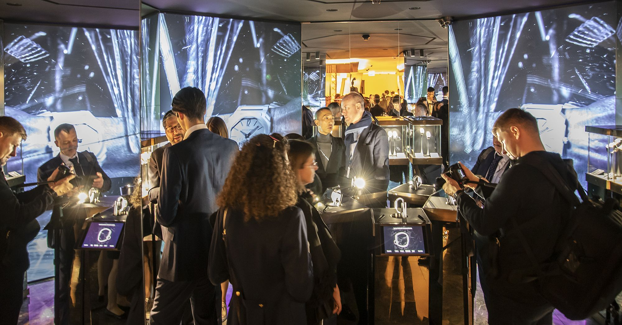2019 Baselworld巴塞爾鐘錶展現場。
