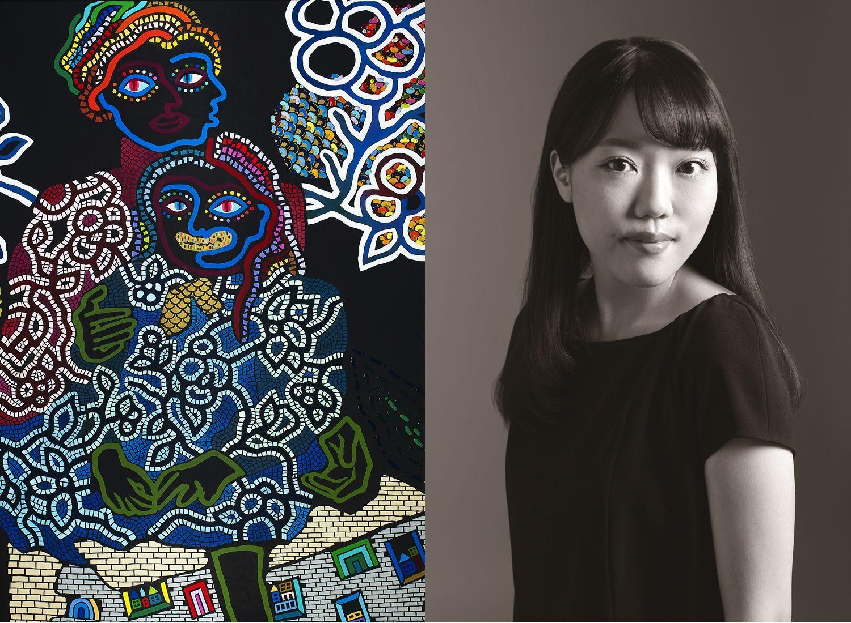 除了小松美羽你一定要認識的日本新銳藝術家,神木佐知子台灣首個展《四方調色盤》台北白石畫廊登場