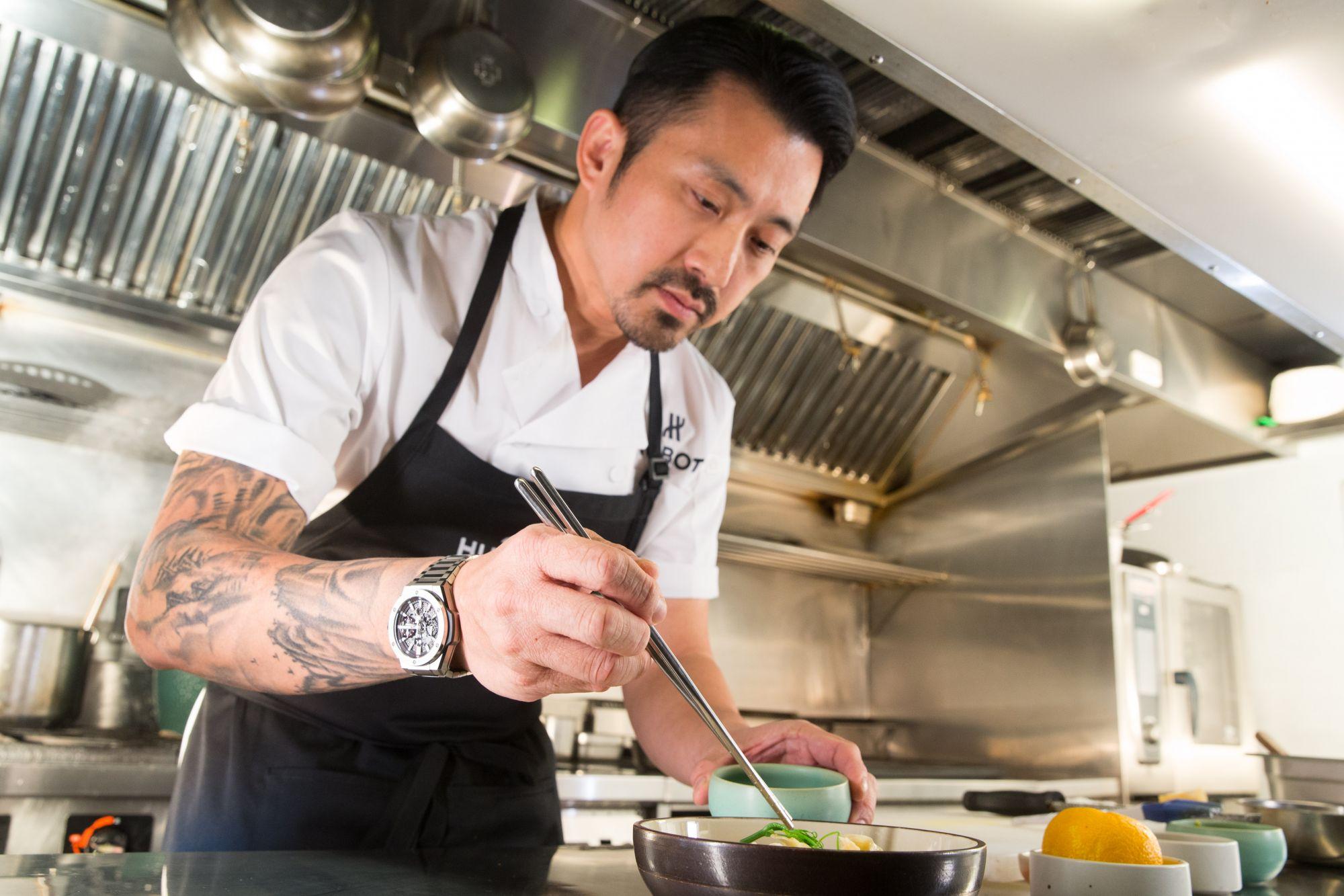 料理也是一門藝術!米其林星級主廚林明健攜手Hublot宇舶錶展現融合的藝術——「我覺得藝術應該是在生活當中去尋找」