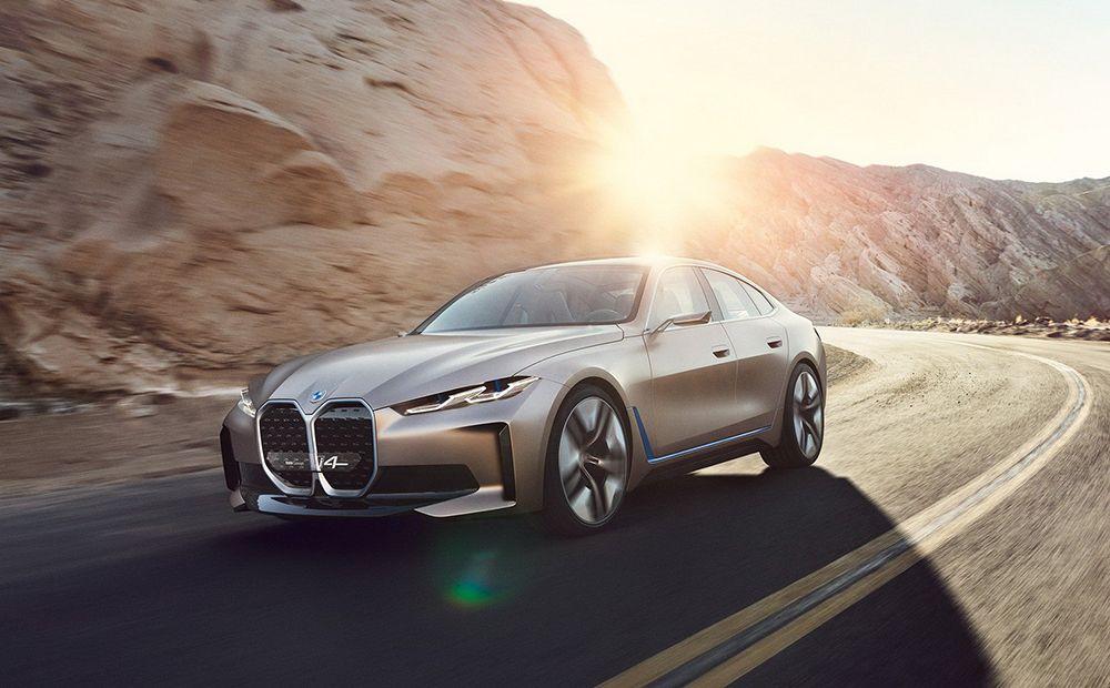 匹敵特斯拉!BMW Concept i4絕美玫瑰金電動車正式亮相