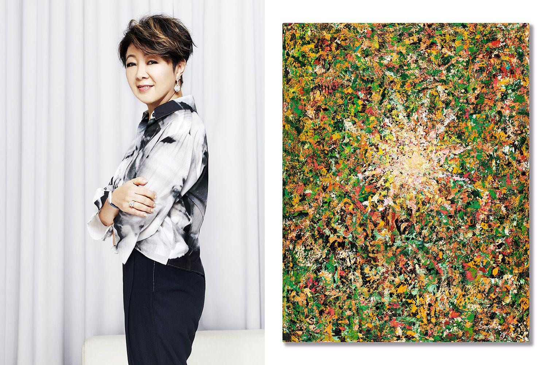 用藝術支持新冠肺炎抗疫!張淑芬畫作《希望之源》拍賣全部收益將捐助支持抗疫工作,香港蘇富比現代藝術晚間拍賣即將登場