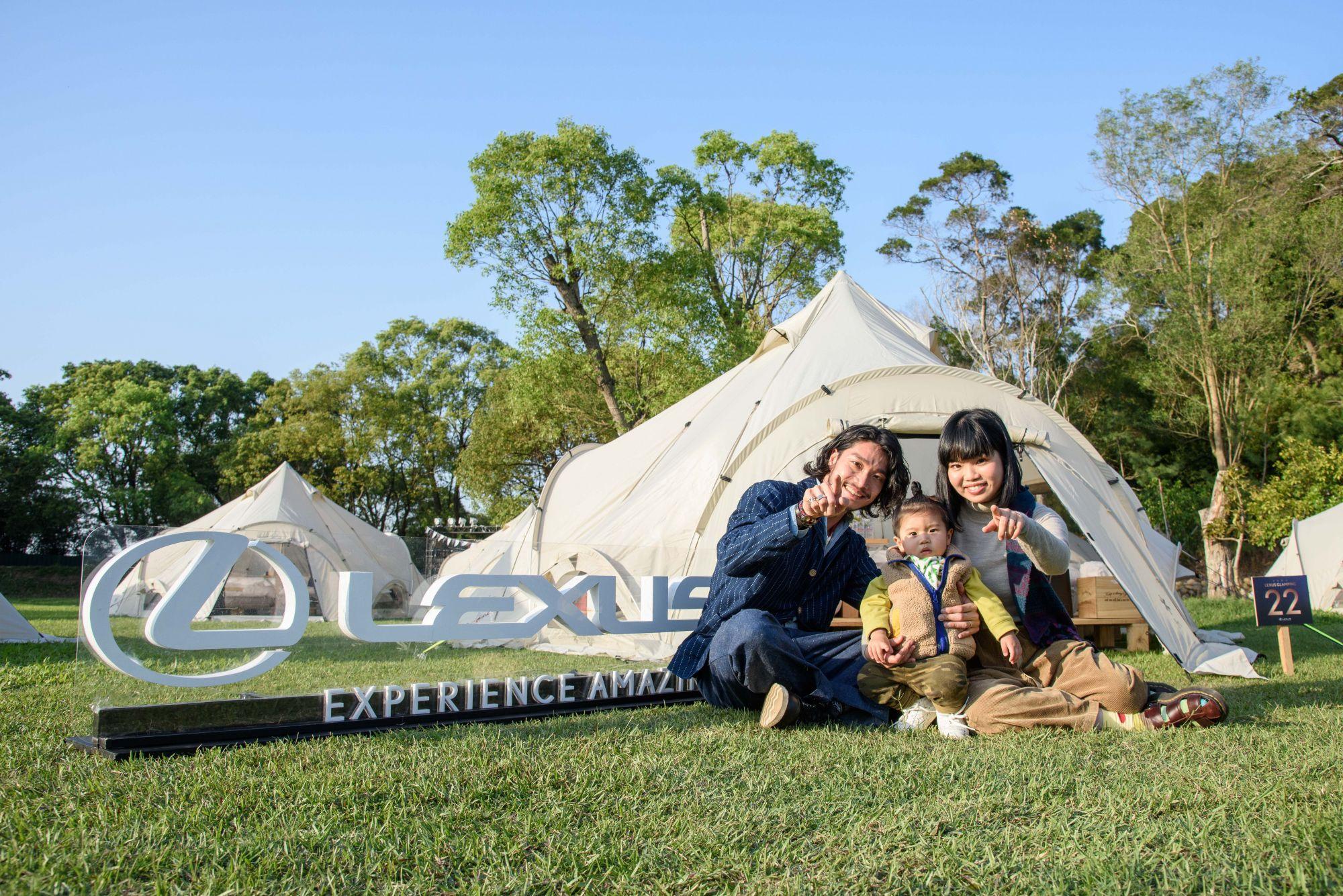 LEXUS Glamping 星空野營,感受極致奢華的浪漫體驗