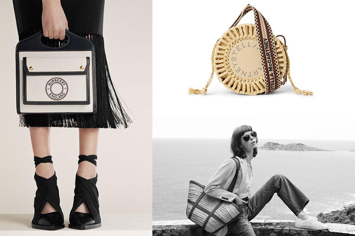 時尚品牌都搶著推!清明連假戶外散策、郊遊踏青,草編帆布單品這樣搭最潮!