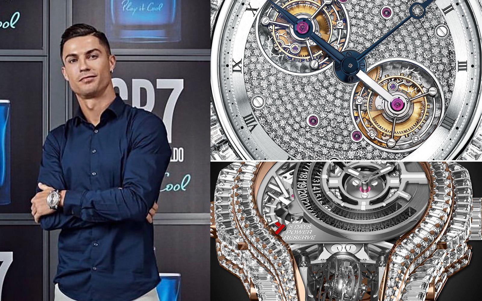 Tatler Treasures:C羅的錶盒大直擊!滿鑽、訂製款、超複雜功能,最懂錶的球星非他莫屬!