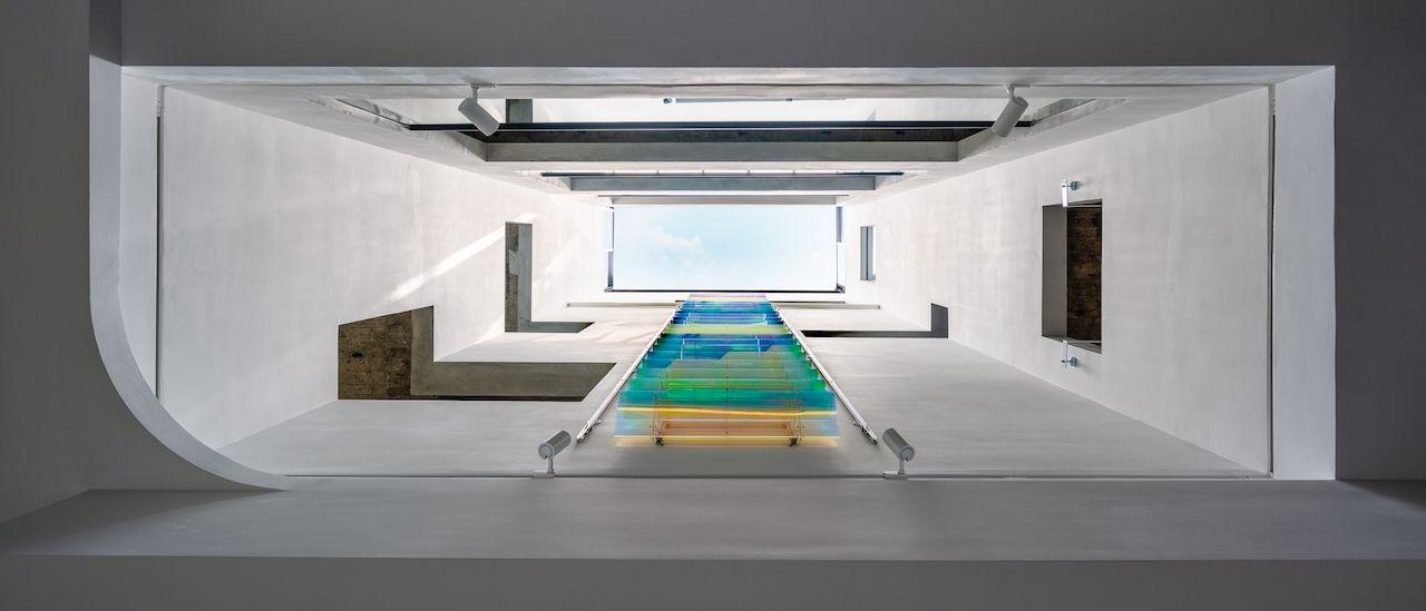 全台唯一!看得到天井的時尚藝術空間,藝術家高德亮首發個展LIGHTWELL登場