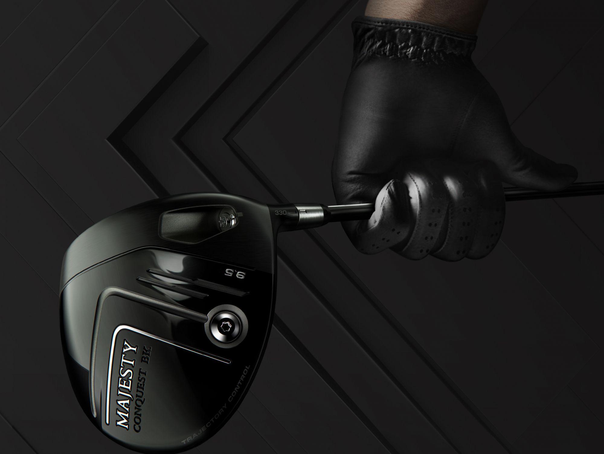 專為男性高爾夫球手打造,CONQUEST BK by MAJESTY瑪嘉斯帝征服者系列黑魂限定版
