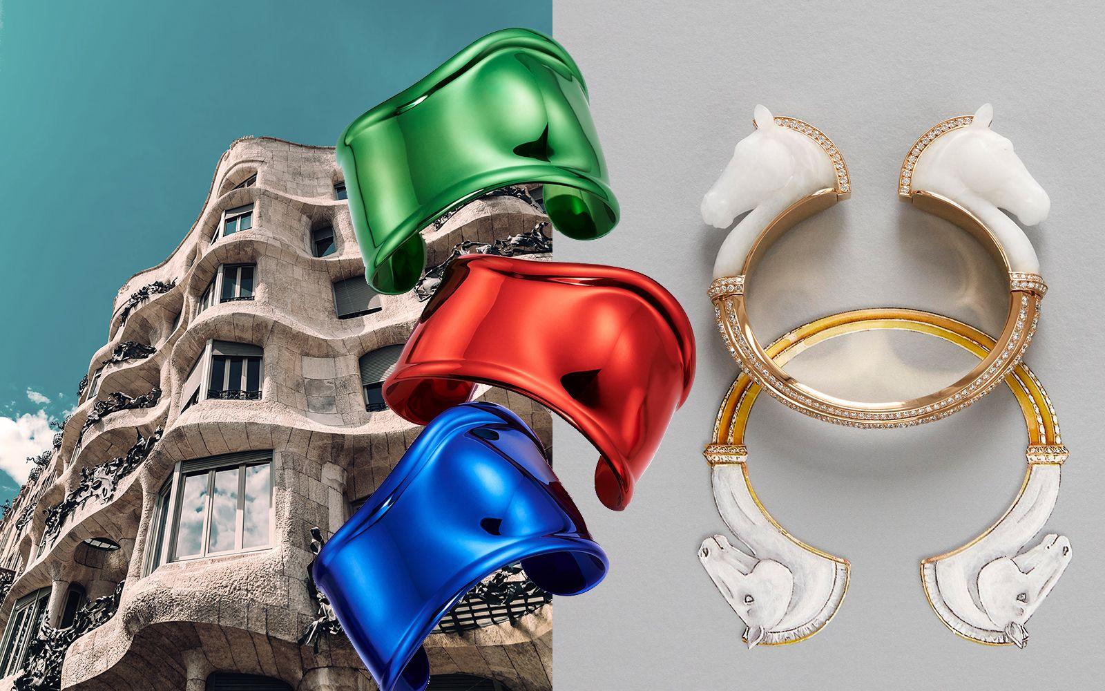 根本藝術品!絕美雕塑感珠寶,靈感來自高第建築、巴黎歌劇院、人骨教堂⋯⋯