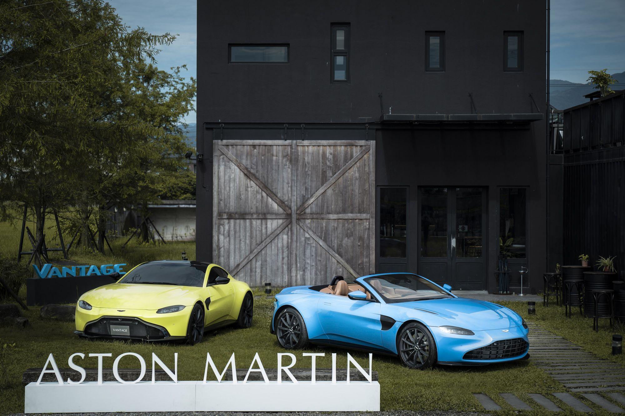 結合航太技術、開篷僅需6.7秒!Aston Martin全新Vantage Roadster 21年式亮眼車色首次公開登台!