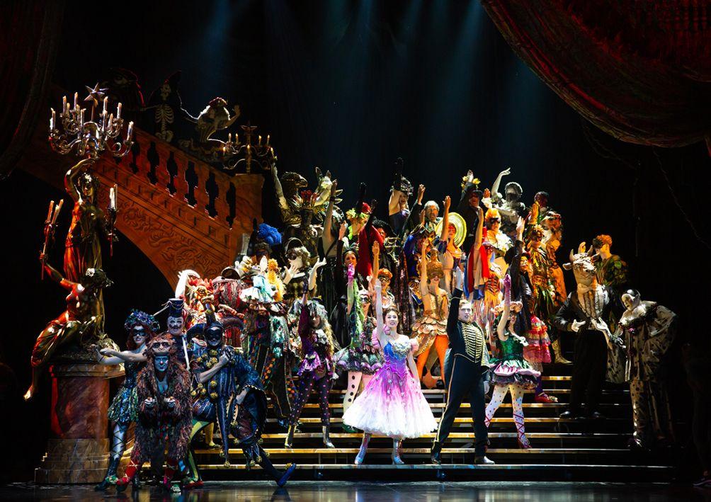 《歌劇魅影》劇照。(圖片來源:寬宏藝術)