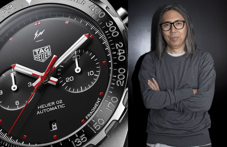 TAG Heuer聯手街頭潮流教父藤原浩,從材質、機芯到設計⋯限量賽車錶款大展前衛創意