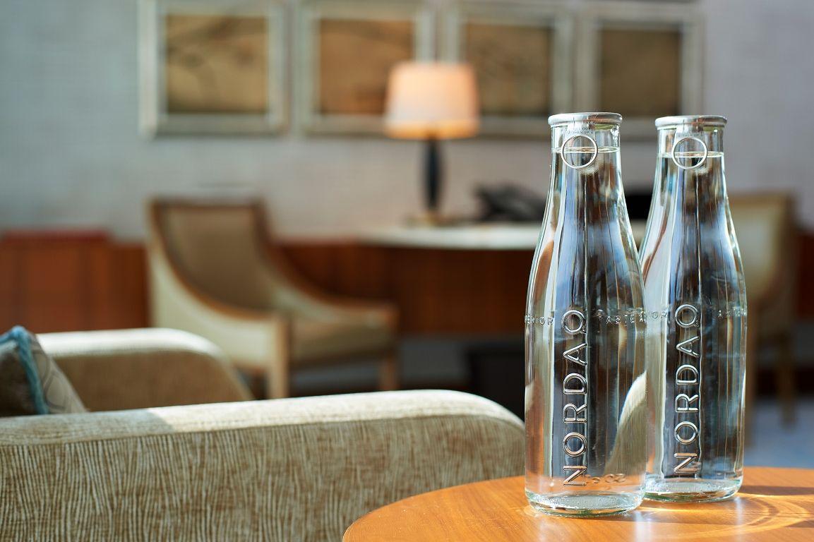 拒絕塑料危害!澳門文華東方酒店使用瑞典Nordaq FRESH過慮飲用水!一年減少15萬罐瓶裝水的用量