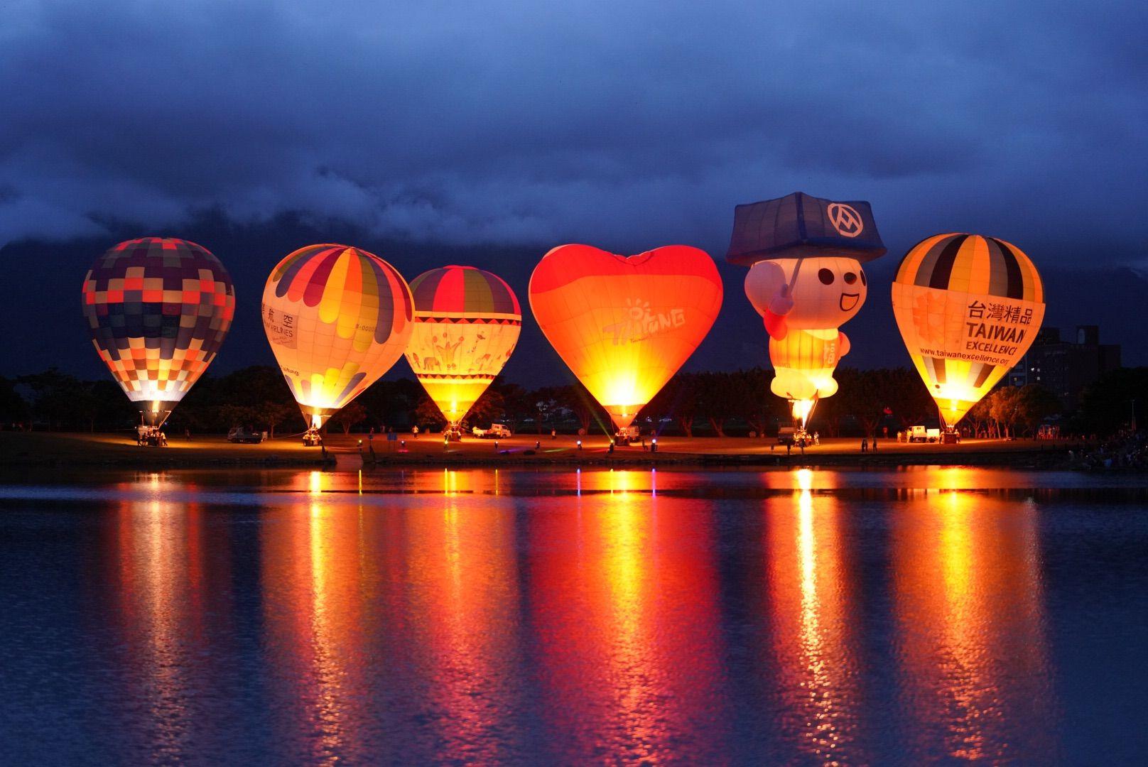 首發場「10在感謝你」熱氣球光雕音樂會,迎接2020台灣國際熱氣球嘉年華