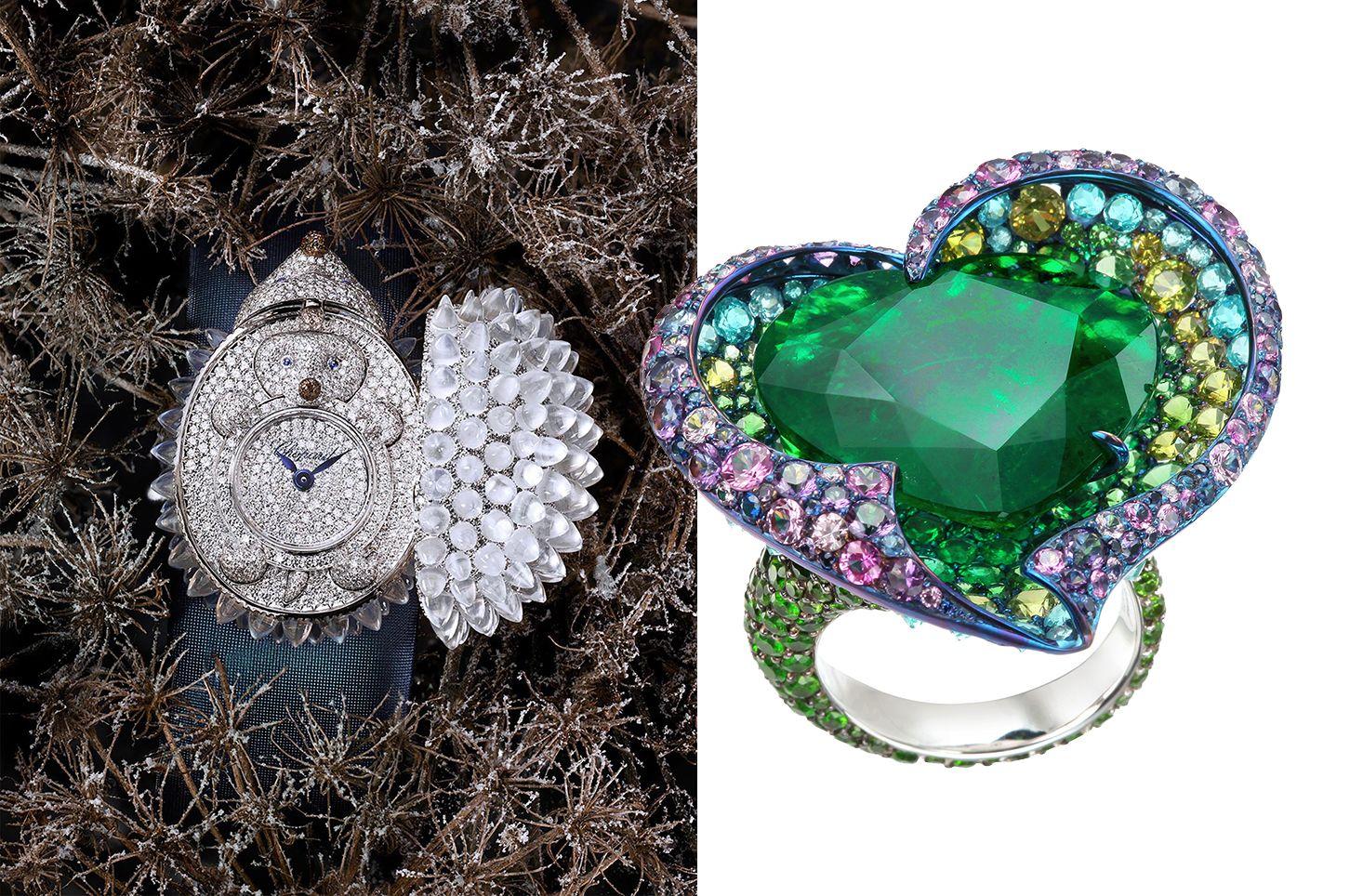 奇幻動物、珍貴寶石、鈦金戒指⋯⋯Chopard蕭邦全球獨一無二、千萬級作品大舉抵台饗客