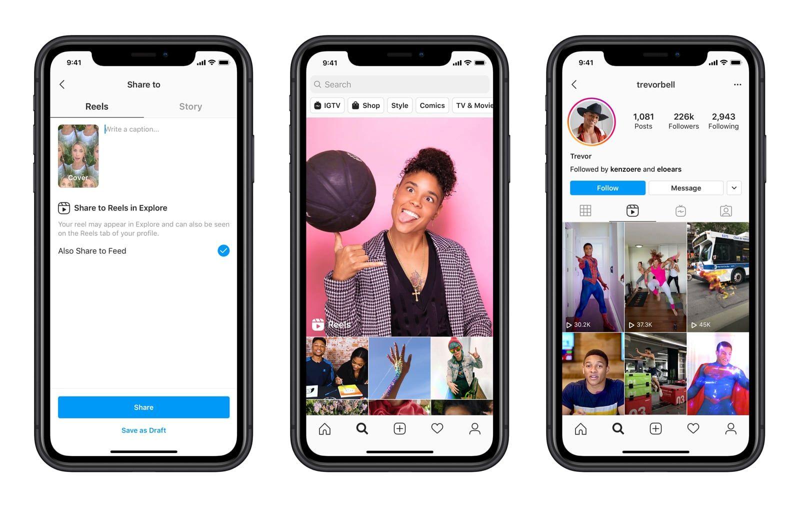正面迎戰TikTok! 「Instagram Reels」全新短影音功能上線,產品創意總監:「不算抄襲」