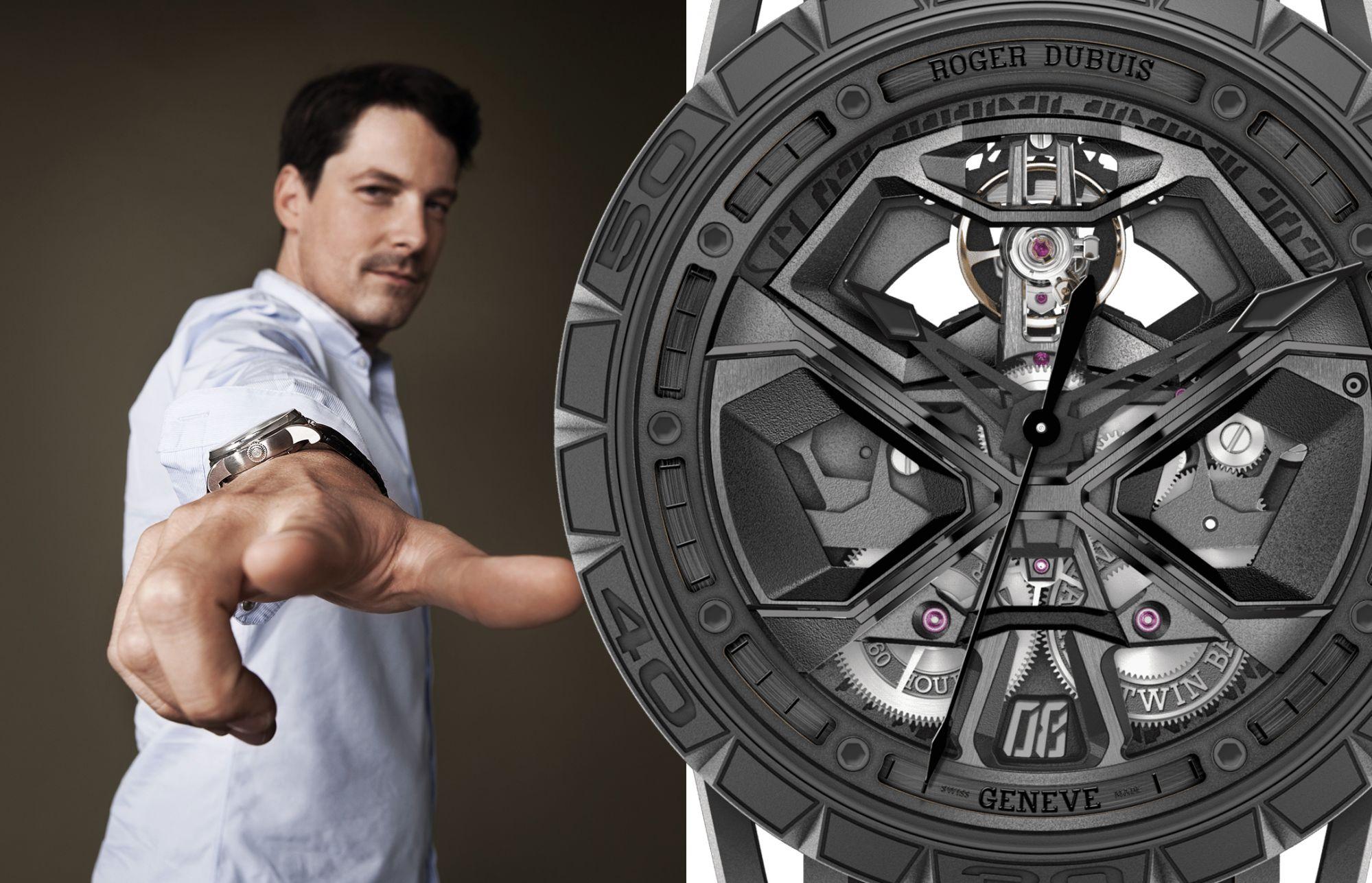 前衛製錶商Roger Dubuis產品策略總監Gregory Bruttin 揭秘與Lamborghini的合作秘辛